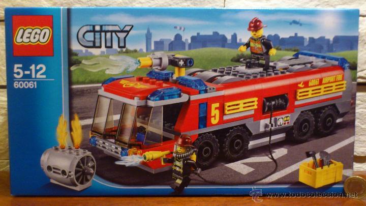 Lego Lego City Camion De Bomberos Aeroportuar Comprar Juegos