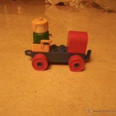 Juegos construcción - Lego: LEGO DUPLO VAGÓN CON FIGURA. Lote 47171133