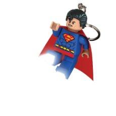 Juegos construcción - Lego: LLAVERO LEGO SUPERMAN LINTERNA. Lote 47721224