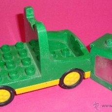 Juegos construcción - Lego: LOTE PIEZAS LEGO DUPLO VEHICULO. Lote 48101809