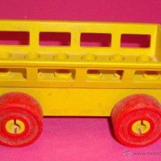 Juegos construcción - Lego: LOTE PIEZAS LEGO DUPLO VEHICULO. Lote 48101822