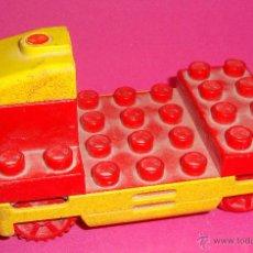 Juegos construcción - Lego: LOTE PIEZAS LEGO DUPLO VEHICULO. Lote 48101834