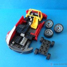 Juegos construcción - Lego: LOTE DE DOS COCHES DE DESPIECE MEGA BLOKS. Lote 48163364