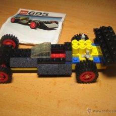 Juegos construcción - Lego: LEGO COCHE DE FORMULA I, REFERENCIA 695 CON EL CATALOGO, AÑO 1976. Lote 48222369