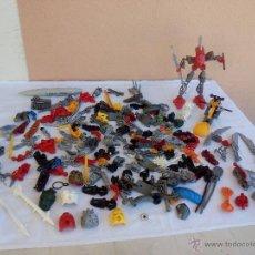 Juegos construcción - Lego: LOTE DE BIONICLE DE LEGO 1 MONTADO Y MUCHAS PIEZAS.. Lote 48703331