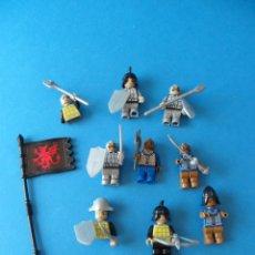 Juegos construcción - Lego: FIGURAS MEDIEVALES LEGO - GUERREROS MONGOLES, ORIENTALES O SIMILAR. Lote 49220822