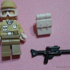 Juegos construcción - Lego: FIGURA LEGO STAR WARS, HOTH REBEL TROOPER. Lote 49528485
