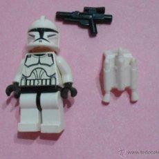 Juegos construcción - Lego: FIGURA LEGO STAR WARS, TROOPER. Lote 49529438