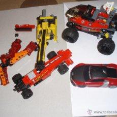 Juegos construcción - Lego: LOTE COCHES Y VEHICULOS LEGO Y MEGA BLOKS . Lote 49698649