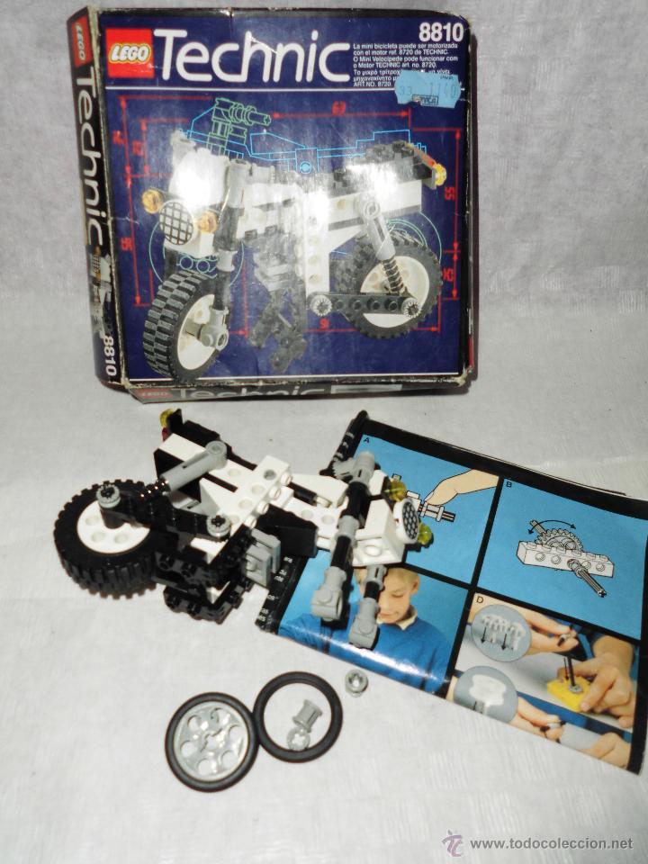 MAGNIFICO LEGO ANTIGUO TECHNIC REF 8810 (Juguetes - Construcción - Lego)
