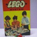 Juegos construcción - Lego: ANTIGUA MOTO CON MOTORISTA DE LEGO ORIGINAL - PERFECTA DE 1ª ÉPOCA. Lote 50021240