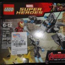Juegos construcción - Lego: LEGO MARVEL SUPER HEROES AVENGERS IRON MAN VS ULTRON 76029 LEGOS EDIFICIO SET-. Lote 50669682