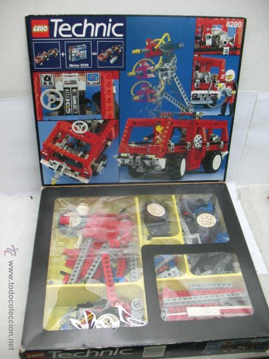 LEGO TECHNIC REF: 8280 - JUEGO DE CONSTRUCCIÓN PARA CONSTRUIR CAMIÓN (Juguetes - Construcción - Lego)