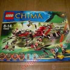 Juegos construcción - Lego: LEGO CHIMA REF. 70006 BUQUE COCODRILO DE CRAGGER NUEVO A ESTRENAR. Lote 51180018