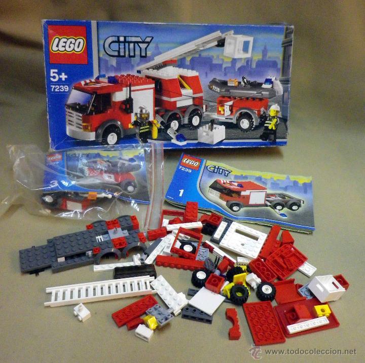 Lego City Set 7239 Camion De Bomberos Rescat Comprar Juegos