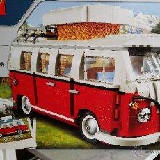 Juegos construcción - Lego: LEGO CREATOR FURGONETA VOLKSWAGEN T1 REF. 10220 NUEVA. Lote 51672350