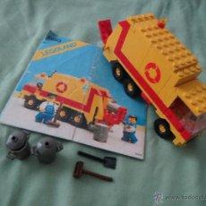 Juegos construcción - Lego: LEGO LEGOLAND 6693 CAMION DE BASURA ( FALTAN MINIFIGURAS Y 2 PIEZAS ). Lote 51920659