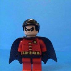 Juegos construcción - Lego: FIGURA LEGO ROBIN BATMAN. Lote 52025296