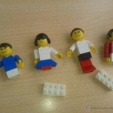 Juegos construcción - Lego: ANTIGUAS FIGURAS DE LEGO SERIE 200 MUÑECOS FAMILIA AÑO 1974 ORIGINALES *. Lote 52329776
