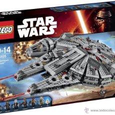 Juegos construcción - Lego: LEGO STAR WARS HALCON MILENARIO 75105. Lote 52398742