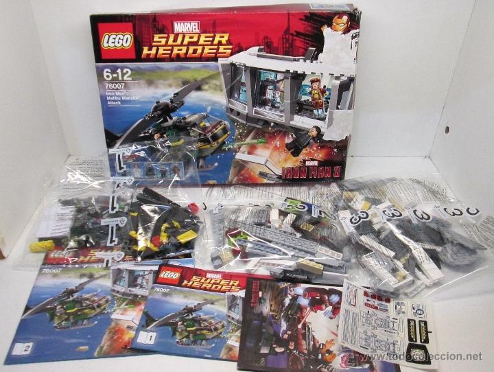 Lego marvel superheroes iron man 3 malibú mansi - Sold through