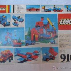 Juegos construcción - Lego: LEGO REFERENCIA 910 CAJA VACIA SIN PIEZAS. Lote 52728548