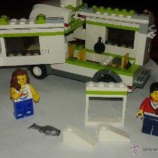 Juegos construcción - Lego: LEGO CARAVANA DEL 2009 CON ACCESORIOS. Lote 52743943