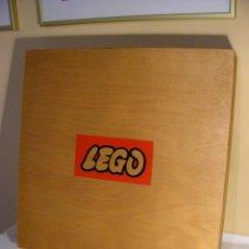 Juegos construcción - Lego: CAJA DE MADERA DE LEGO DE 1960. Lote 52947224