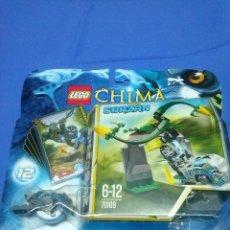 Juegos construcción - Lego: LEGO LEGEND OF CHIMA GORZAN 12 70109 NUEVO A ESTRENAR CERRADO CROMOS CORZAN. Lote 53028046