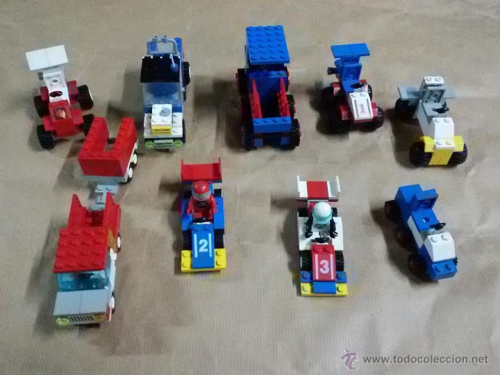 LEGO: COCHES, REMOLQUE, F1, VARIOS LOTE (Juguetes - Construcción - Lego)