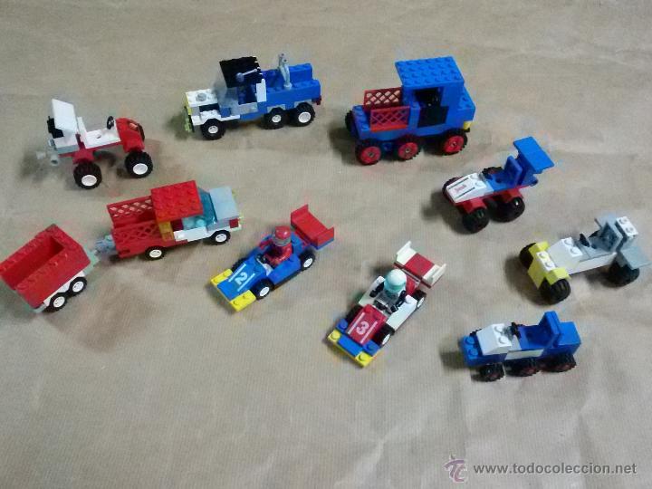 Juegos construcción - Lego: Lego: coches, Remolque, F1, varios lote - Foto 5 - 53081733