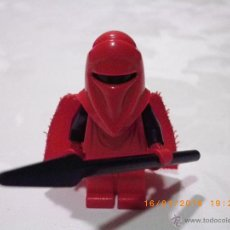 Juegos construcción - Lego: LEGO STAR WARS MINIFIGURA GUARDIA REAL ROJO CON LANZA - ROYAL GUARD - MINI FIGURA EPISODIO IV. Lote 53830856