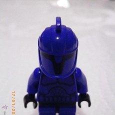 Juegos construcción - Lego: LEGO STAR WARS MINIFIGURA COMANDO DEL SENADO AZUL - ORIGINAL - MINI-FIGURAS EPISODIO: GUERRAS CLON. Lote 53847329