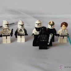 Juegos construcción - Lego: LOTE DE FIGURAS LEGO STAR WARS. Lote 53959342
