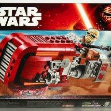 Juegos construcción - Lego: LEGO STAR WARS REY´S SPEEDER 75099 BRAND NEW FACTORY SEALED 2 MINIFIGURES UNKAR. Lote 54036902