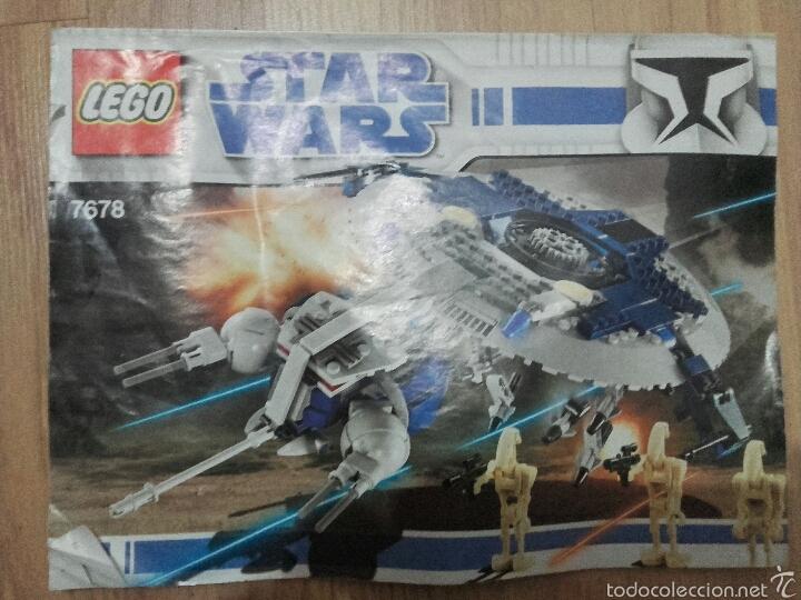 Juegos construcción - Lego: Lego Star Wars Droid Gunship 7678 - Foto 6 - 54498918