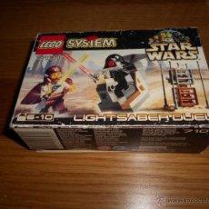 Juegos construcción - Lego: CAJA LEGO SYSTEM 7101 STAR WARS LIGHTSABER DUEL 1999 VACIA. Lote 54604558