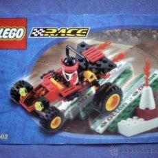 Juegos construcción - Lego: INSTRUCCIONES DE MONTAJE LEGO 6602 RACE BUGGY SCORPION CON RAMPA. Lote 54772368