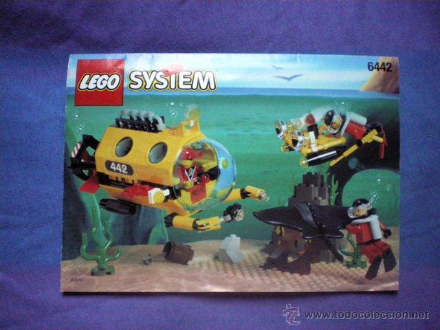 INSTRUCCIONES DE MONTAJE LEGO 6442 SYSTEM BASE SUBMARINA STING RAY EXPLORER (Juguetes - Construcción - Lego)