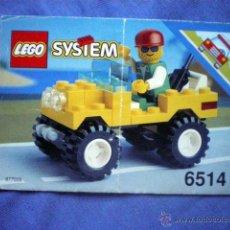 Juegos construcción - Lego: INSTRUCCIONES DE MONTAJE LEGO 6514 TRAIL RANGER SYSTEM. Lote 54790670