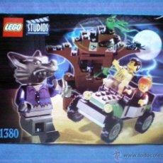 Juegos construcción - Lego: INSTRUCCIONES DE MONTAJE LEGO 1380 STUDIOS SET HOMBRE LOBO EMBOSCADA. Lote 54791375
