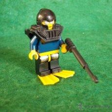 Juegos construcción - Lego: LOTE LEGO FIGURAS ORIGINALES - BUCEADOR. Lote 55077515