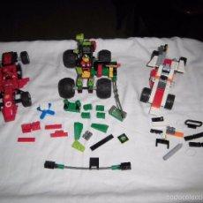 Juegos construcción - Lego: LOTE LEGO TRES COCHES FALTAN PIEZAS LO QUE SE VE EN LAS FOTOS. Lote 55107989