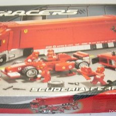 Juegos construcción - Lego: LEGO RACERS SCUDERIA FERRARI TRUCK CAMION ESCUDERIA FERRARI REF. 8654. Lote 55114383