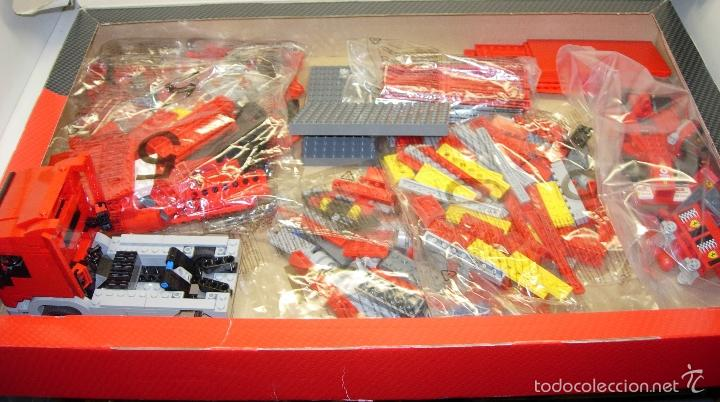 Juegos construcción - Lego: LEGO RACERS SCUDERIA FERRARI TRUCK CAMION ESCUDERIA FERRARI ref. 8654 - Foto 2 - 55114383