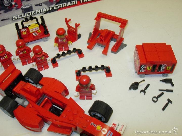 Juegos construcción - Lego: LEGO RACERS SCUDERIA FERRARI TRUCK CAMION ESCUDERIA FERRARI ref. 8654 - Foto 6 - 55114383