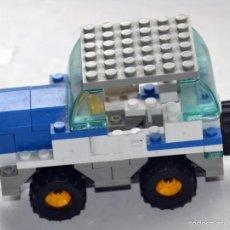 Juegos construcción - Lego: ANTIGUO COCHE MONTADO CON PIEZAS LEGO. Lote 55523884