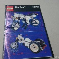 Juegos construcción - Lego: CATALOGO LEGO TECHNIC 8810. Lote 56151899