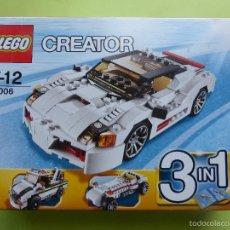 Juegos construcción - Lego: LEGO CREATOR HIGHWAY SPEEDSTER 31006 - EN SU CAJA. Lote 56177304