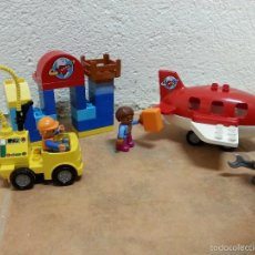 Juegos construcción - Lego: LEGO AVION CON SUS COMPONENTES. Lote 56330606